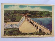 Grafton Morgantown West Virginia 1950 Tygart Flood Control Dam Postcard A34