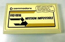 Commodore VIC-20: MISSION IMPOSSIBLE Cartridge - Tested - VIC-1916