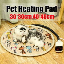 220V Electric Pet Heating Pad Puppy Heated  Blanket Dog Cat Whelping Bed