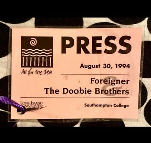 FOREIGNER & THE DOOBIE BROTHERS - ALL FOR THE SEA - SOUTHAMPTON COLLEGE - 1994
