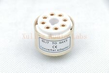 1pc Gold plated 6Sj7 6J8P Vt116 Instead 6Ak5 6J1 tube Converter adapter