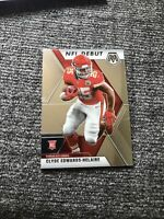 2020 Panini Mosaic football Clyde Edwards-Helaire rookie debut - Chiefs