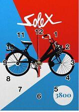 Publicité, Vintage, Velo Solex en Horloge murale -03hm