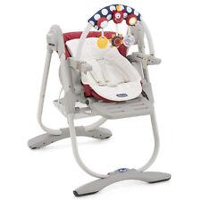 """Chicco Chaise haute bébé polly MAGIE INCLUS Arc de jeu bébé """" Paprika """""""