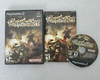 Ghosthunter (Sony PlayStation 2 PS2, 2004) Complete CIB Namco Game TESTED Rare