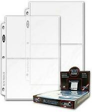 Case of 1000 BCW Pro 2-Pocket 5x7 Photo / Picture Album Pages binder sheets