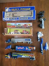 New Listing8 Tractor Trailers/Trucks 1:43 K-Line Road Champs Desert Storm Sunoco