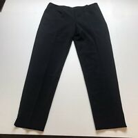 Little Black Pant Made With FitLogic Straight Leg Pants Size 10 A776