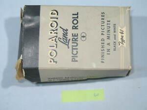 Polaroid Land PICTURE ROLL Black & White Type 41 Expired Sept 1953 - #3