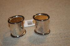 NEW Ralph Lauren Home Hotel Silver Salt and Pepper Shaker Set
