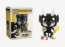 Funko Pop Games: Cuphead - The Devil Vinyl Figure Item #26966