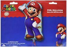 Amscan 3201001 22 X 33 pulgadas Super Mario Súper forma Decoración conjunto -