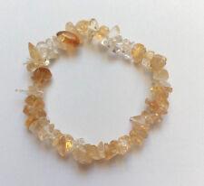 Bracelet Baroque en pierres naturelles Citrine