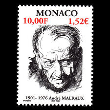 Monaco 2001 - Birth of Andre Malraux Writer - Sc 2207 MNH