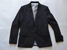 JF J. Ferrar Super Slim Black Dress Suit Size 42 R Blazer + 36 W x 30 L Pants