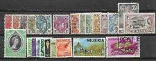 NIGERIA, 24 VARIOUS,  MIXED