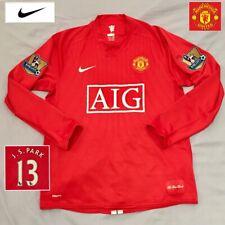 Original Manchester United Football Shirt Ji Sung Park (M) Vintage 2007 Jersey
