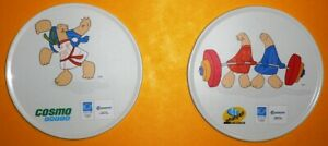 2004 Olympic Games Athens COSMOTE Athena & Phevos COASTERS Weightlifting & Judo