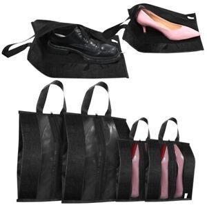 6pcs Travel Shoe Bags Zip Pouch Storage Organizer Waterproof Bag Shoes Case Box