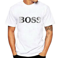 Summer Casual Men Basic T-shirt Shirt Slim Print Plain Tee Short Sleeve Tops CY