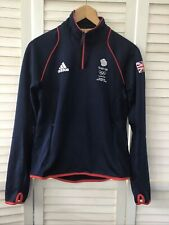Adidas TRIATHLON SUPPORT TEAM GB London Olympics 2012 Top Size 10 Athlete Blue