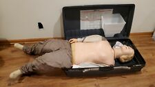 MINT condition Laerdal Resusci Anne Adult CPR Training Manikin Case Skill Guide