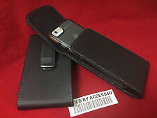 LEATHER HOLSTER CARRYING 360 BELT CLIP POUCH FOR IPHONE 6 PLUS TECH21 CASE ON
