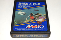 Shark Attack Late Version Atari 2600 Video Game Cart