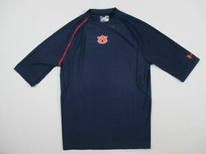 Auburn Tigers Under Armour Long Sleeve Compression Men's Used Multiple Sizes