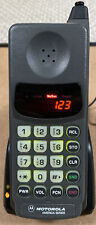 Motorola Pocket Classic 910 America Series Brick Cell Phone 80s Works + Charger