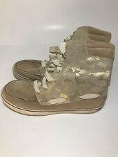 Womens Sperry Top Sider Acklins Gold Camo Lace Up Boots Size 11