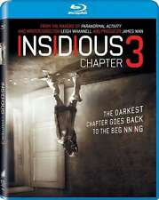 INSIDIOUS 3 III BRAND NEW BLU RAY DISC FILM HORROR GORE EVIL PARANORMAL ACTIVITY