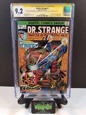 DOCTOR STRANGE #1 CGC SS 9.2 4X SIGNED STAN LEE BRUNNER  LEN WEIN THOMAS (1974)