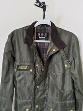 Mens barbour international jacket medium
