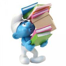 Les Schtroumpfs figurine Le Schtroumpf Pile de Livres Collectoys smurf 01807