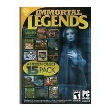 Immortal Legends - Hidden Object 15 Pack - PC Game - New