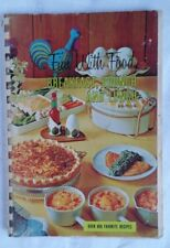 VINTAGE COOKBOOK COLLECTABLE FUN WITH FOOD BREAKFAST BRUNCH AND LUNCH RETRO