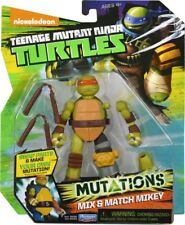 BRAND NEW TEENAGE MUTANT NINJA TURTLES MUTATIONS MIX & MATCH MIKEY 90383 TMNT