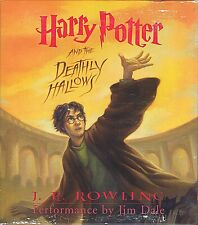 HARRY POTTER and the DEATHLY HALLOWS Audio Book 17 CDs ex Cond