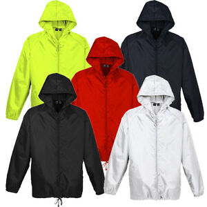 Unisex Jacket Adult Kids Children Mens Womens Showerproof Spray Boys Girls Sport