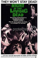Vintage Horror Movie 11x17 Poster Night of The Living Dead
