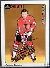 1997-98 Pinnacle Beehive STAN MIKITA 5X7 Autograph #59 Blackhawks Certified Auto