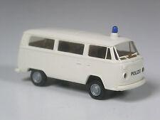 TOP: Brekina # 3307 VW T2 Polizei Kombi NRW weiß in OVP