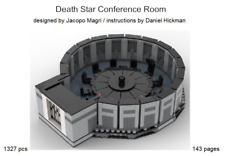 *custom* Lego Star Wars Death Star Conference Room - INSTRUCTION MANUAL ONLY!