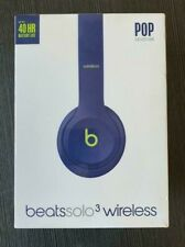 Beats by Dr. Dre Solo3 Wireless Pop Indigo Beats Pop Collection On Ear Headphone