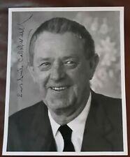 Author Erskine Caldwell Hand Signed Sun - Sentinel 1937 Photograph