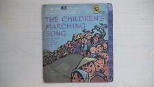 Golden Record THE CHILDREN'S MARCHING SONG 45rpm 50s