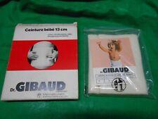 Cintura lana Dr. GIBAUD NEONATO 13cm-TG 04 pancera termoterapia