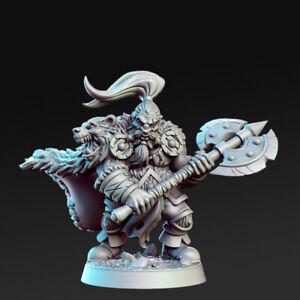 Ortwayn - Dwarf Warrior RN Estudio Compatible with Fantasy, RPG and DnD.