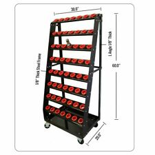 CNC Tool cart , CAT 50 - BT 50 , 48 Holders Capacity, Ladder Model Cart